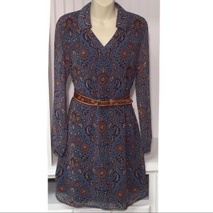 CAbi Provincial Floral Dress | #3295 | Size Small